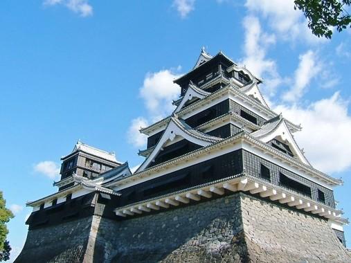 熊本地震で観光業が打撃・・・(写真は地震発生前の熊本城)