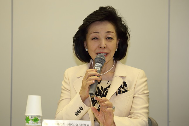 櫻井よしこ氏は熊本地震の例も挙げながら緊急事態条項の制定を主張した