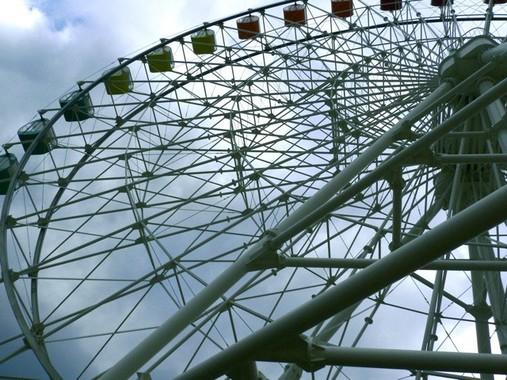 「グルグル回った」赤穂海浜公園の観覧車(写真はWikimediaより)