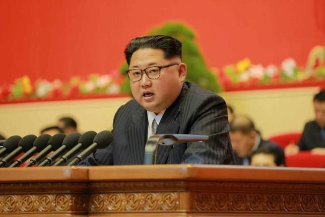 朝鮮労働党の党大会に出席した金正恩第1書記(労働新聞ウェブサイトより)