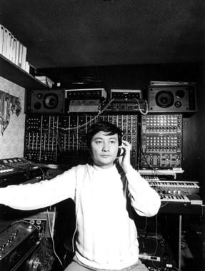 冨田勲さん(1975年頃)