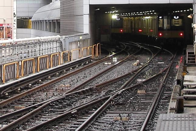 トラブルは銀座線渋谷駅の引き込み線で起こった