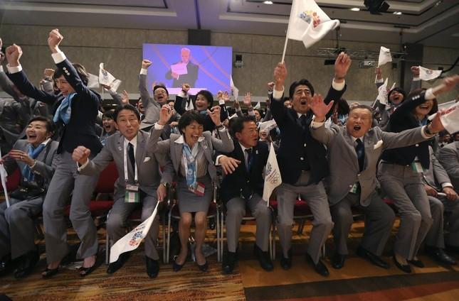 東京五輪の招致プロセスに疑問が投げかけられている(写真:代表撮影/ロイター/アフロ)