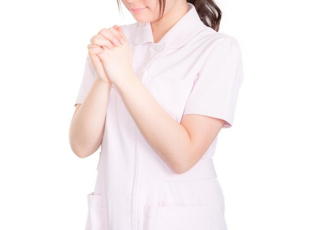 日本看護協会の粋な計らいも