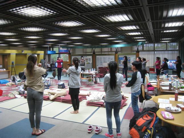 避難所として使われた熊本市国際交流会館(写真提供・熊本市国際交流会館)