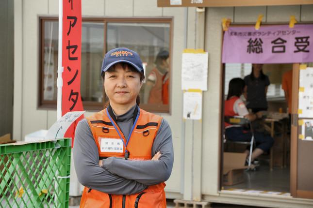フェイスブックでは「またボランティアに来てほしい」とのメッセージを送り続けていると話す中川奈穂子さん