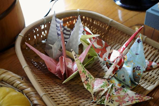 「折り鶴」あなたは折れますか?(写真はイメージ)