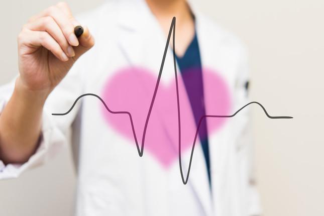 元気に見えても突然倒れる可能性がある、心臓の異常