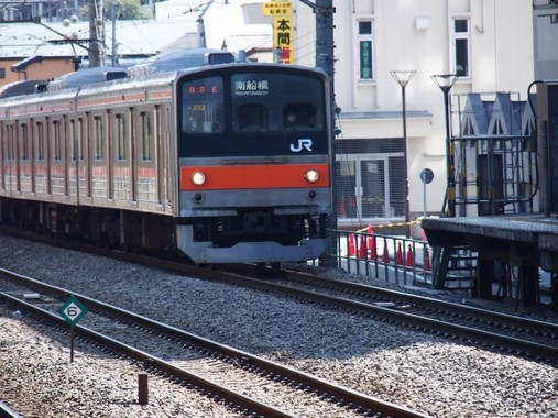 首都圏を走るJR武蔵野線