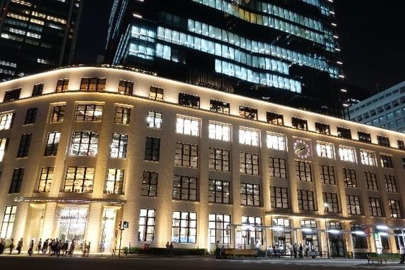 東京駅前の観光名所にもなっているが…