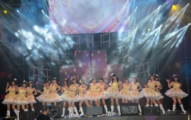 SNH48も「選抜総選挙」を行っている。写真は2014年の総選挙で撮影された(写真:Tungstar/アフロ)