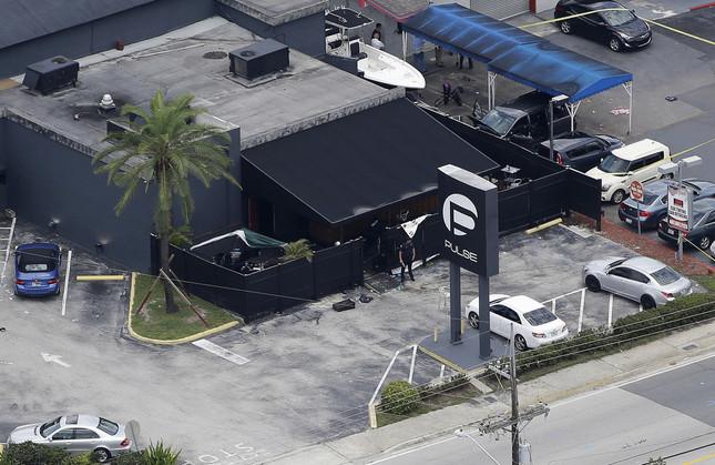 米国フロリダ州オーランドで起きた銃乱射テロでは50人が死亡した(写真:AP/アフロ)