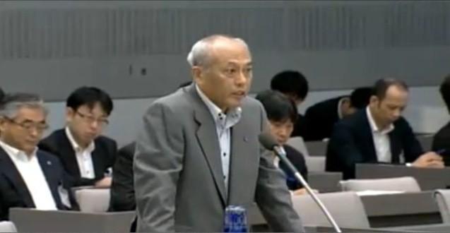 集中審議での様子(画像は東京都議会インターネット中継のスクリーンショット)
