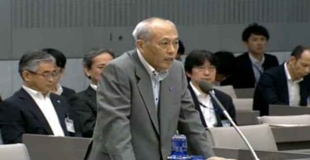 質問を次々にかわす舛添氏