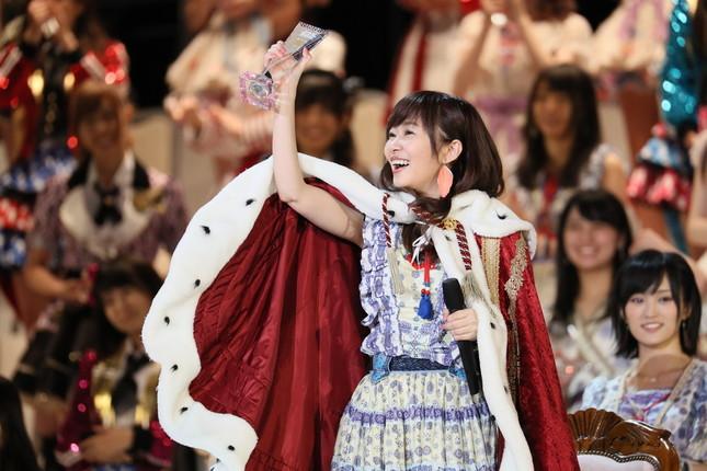 初の連覇を果たしたHKT48の指原莉乃さん (c)AKS