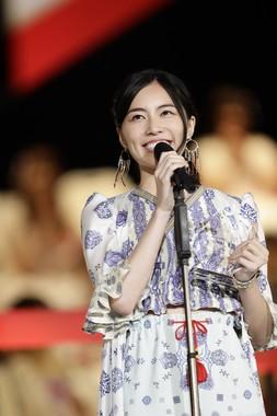 SKE48の松井珠理奈さんは自己最高の3位にランクインした (c)AKS