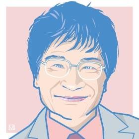 尾木ママは優しそうな笑顔と陽気なキャラクターでおなじみ
