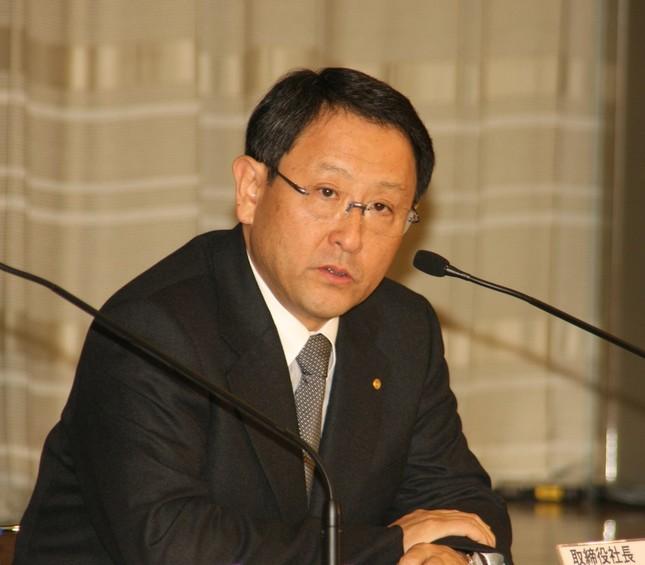 トヨタ自動車の豊田章男社長(写真は2010年2月撮影)