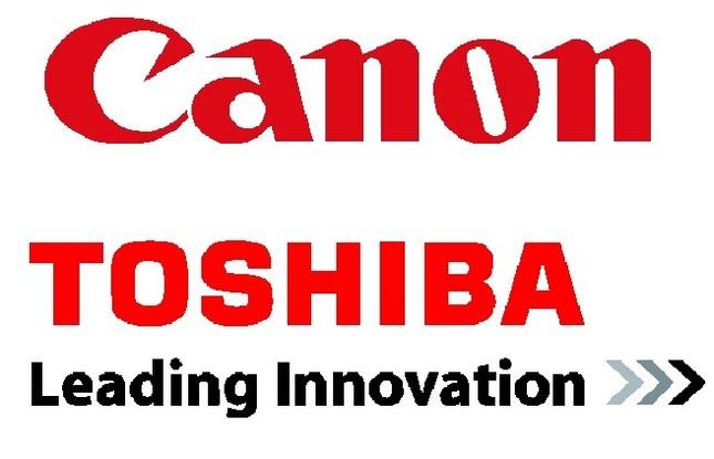 経営再建中の東芝はキャノンに子会社を売却した。