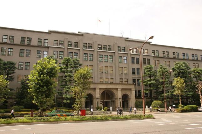 円高基調で税収は伸び悩んでいる(写真は財務省)