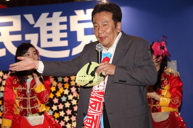 民進党の枝野幹事長(2016年4月撮影)