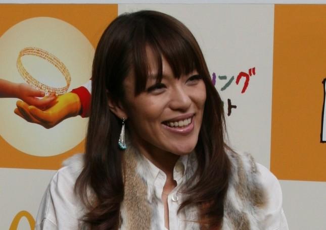 今井絵理子氏は参院選比例代表で当選を確実にした(写真は2010年11月撮影)