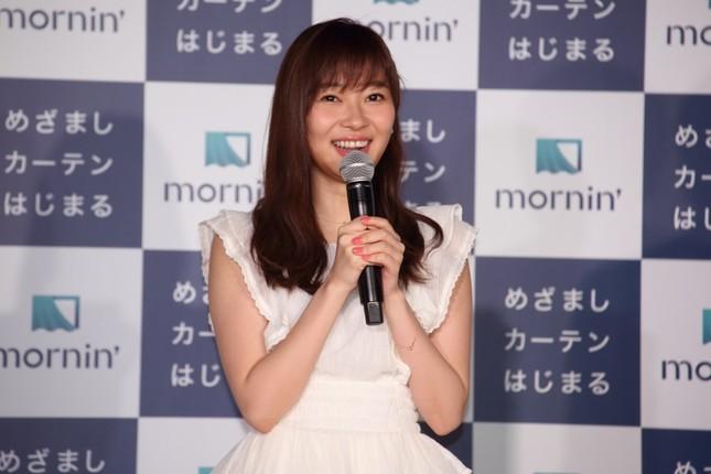 イベントに出席したHKT48の指原莉乃さん