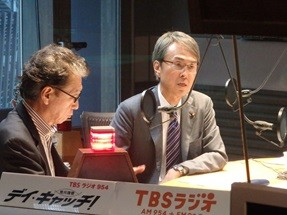 石原伸晃氏はTBSラジオの番組で「家族まで関係するとか、そういうことはない」などと話していた(写真はTBSラジオの発表資料から)