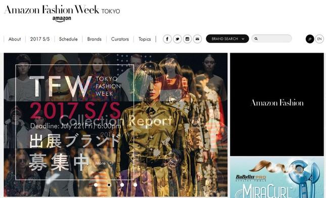 アマゾンが「東京ファッション・ウィーク」の冠スポンサーに!(画像は、「Amazon Fashion Week TOKYO」の公式ホームページ)