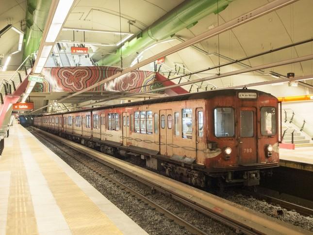 ブエノスアイレスで走っていた旧・丸ノ内線500形。営団(現・東京メトロ)時代と塗装はほとんど変わらない(写真提供:東京メトロ)