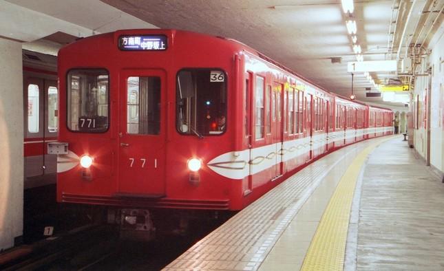 営団(現・東京メトロ)時代の丸ノ内線500形(写真提供:東京メトロ)