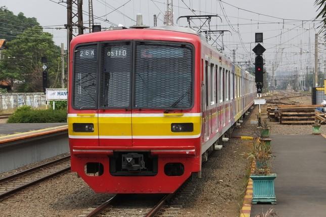 東西線で05系として活躍した車両。今はジャカルタで走っている(写真提供:東京メトロ)