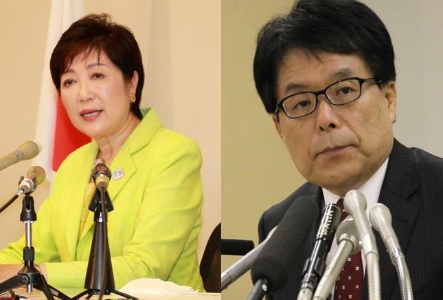 小泉純一郎氏の発言は小池百合子氏(左)と増田寛也氏(右)の戦いにどう影響するのか