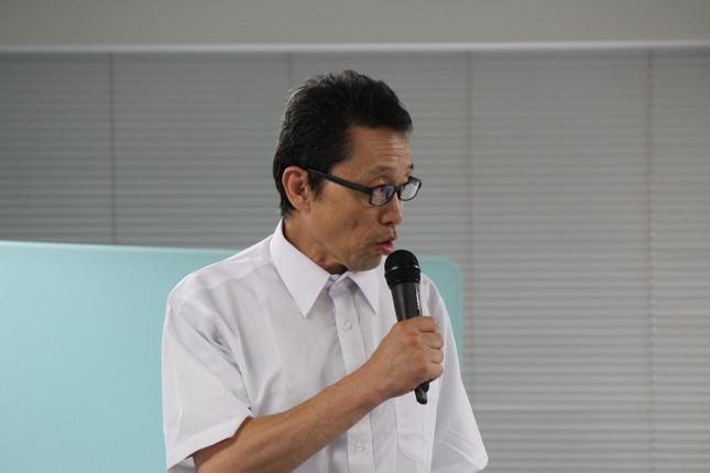 急きょ会見に参加した内藤久遠氏