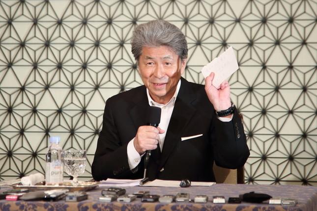 野党統一候補の鳥越俊太郎氏(16年7月撮影)