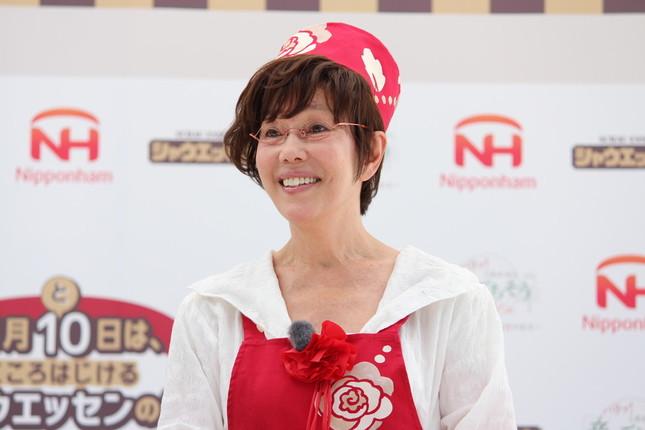 イベントに登場した平野レミさん
