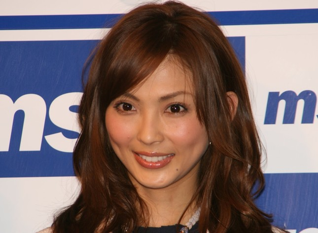 つい先日に専属モデル「卒業」を発表していた押切もえさん(2008年撮影)