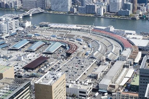 「東京都民の台所」の築地市場。小池新都知事は予定通りに移転を決行するのだろうか。
