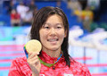 水泳「金」金藤理絵が澤穂希そっくり 表彰台写真が「瓜二つ」