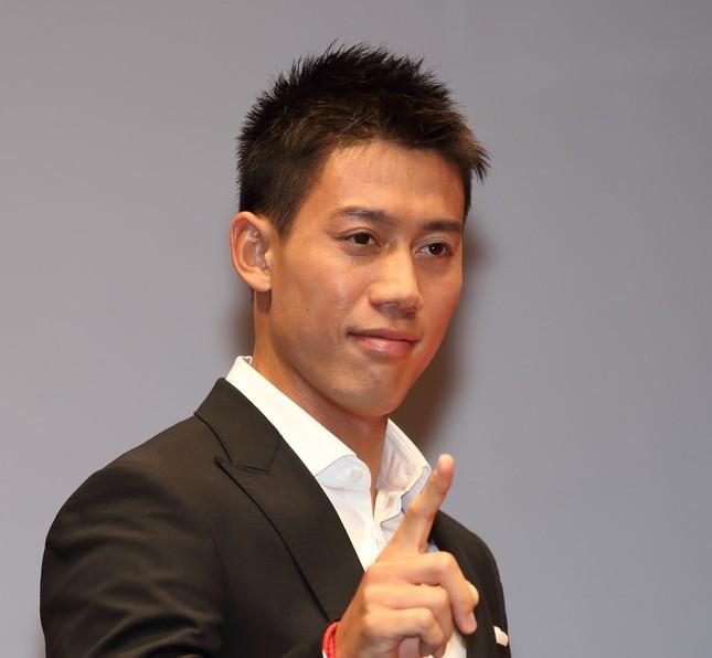 錦織圭は、五輪テニス競技で96年ぶりに日本にメダルをもたらした(2014年9月撮影)
