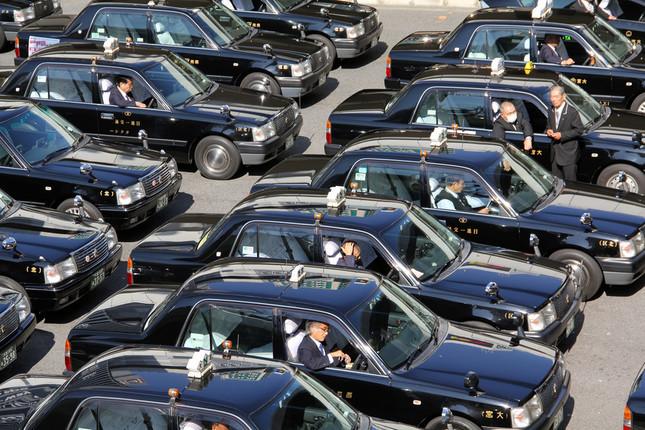 東京都心のタクシー初乗り運賃が全国最安値になる見通しだ(写真はイメージ)