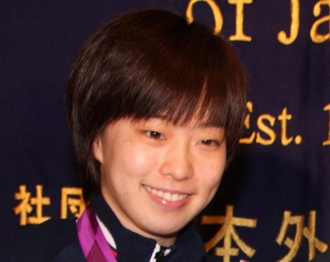 卓球女子団体で銅メダルを獲得した石川佳純選手(写真は2012年撮影)