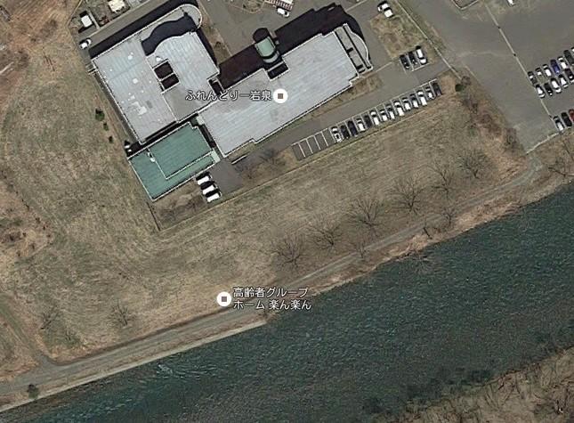 遺体が見つかったグループホーム「楽ん楽ん」(C)Google