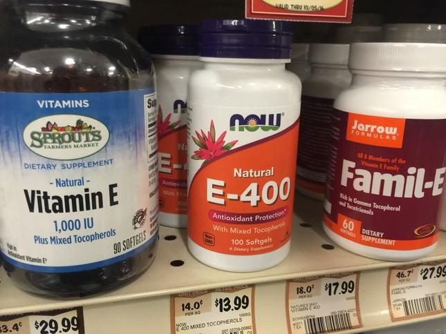 ビタミンEは、マルチビタミンから摂取する人が多いようです