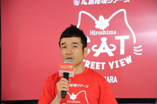 リオ五輪陸上男子マラソン・カンボジア代表の猫ひろし選手