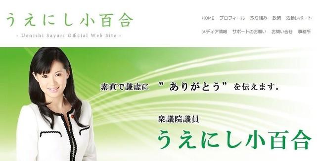 「太田批判」から「国会追及」へ(上西氏公式サイトより)。