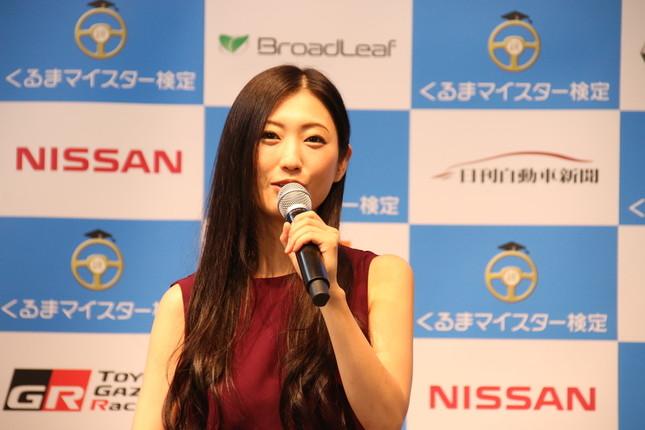 壇蜜さん(16年9月7日撮影)