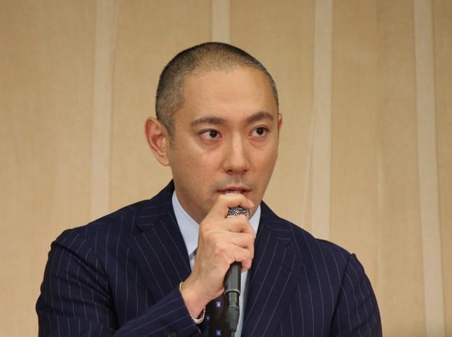 海老蔵さんがブログで麻央さんの様子を紹介した(写真は16年6月9日撮影)