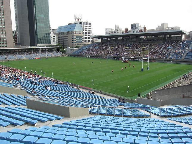 試合には勝ったけど…(写真は秩父宮ラグビー場。Wikimedia Commonsより)