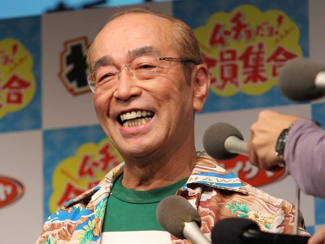 退院後、初のイベントで元気な姿を見せた志村さん
